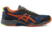 asics Gel-FujiTrabuco 5 Shoe Men Poseidon/Flame Orange/Safety Yellow